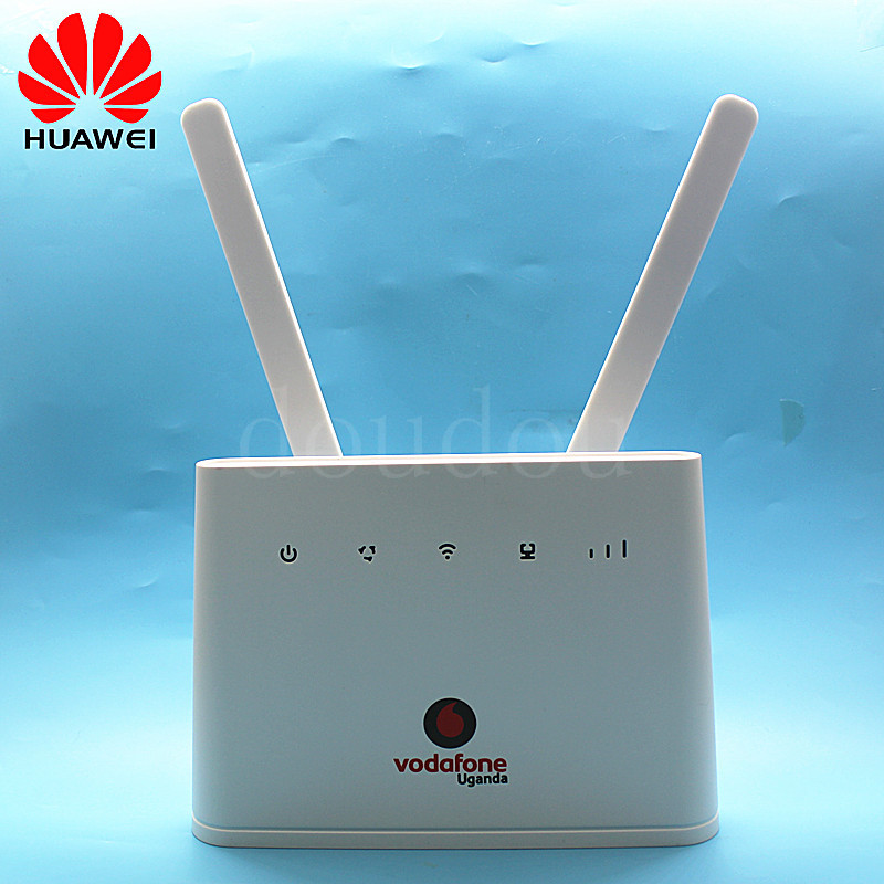 Unlocked Huawei B310 B310s 22 150Mbps with Antenna 4G LTE CPE WIRELESS WIFI ROUTER Modem with Sim Card  PK B593 B315 -in 3G/4G Routers from Computer & Office