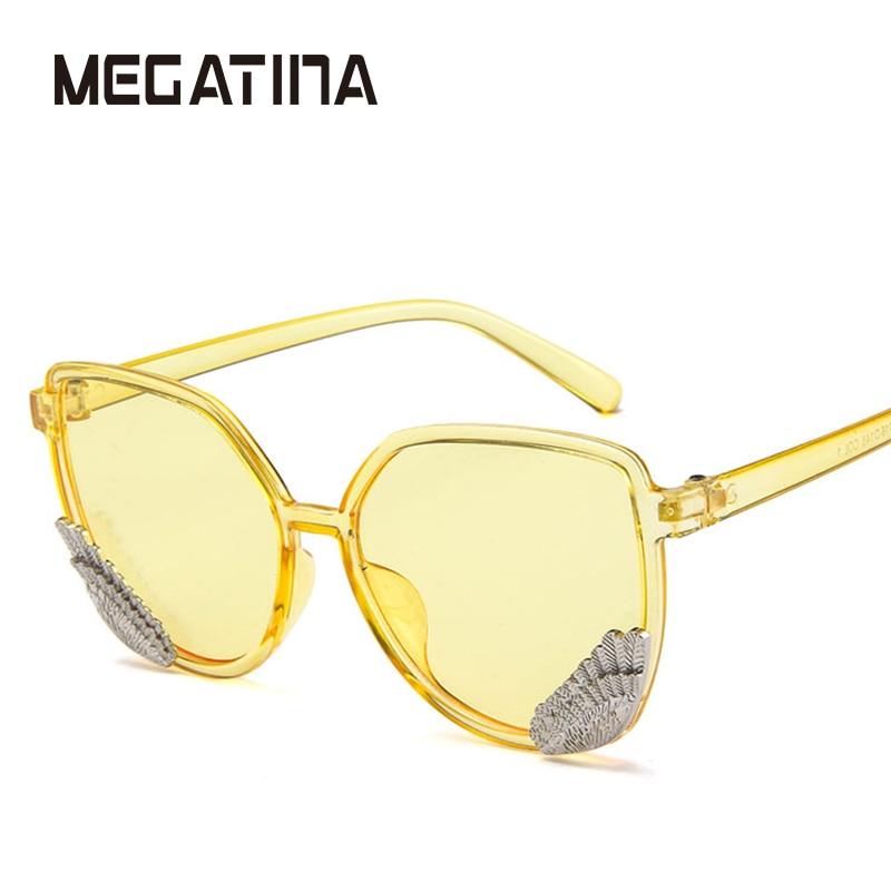Megatina Eropa dan Amerika sayap fashion kacamata pria dan wanita - Aksesori pakaian - Foto 2