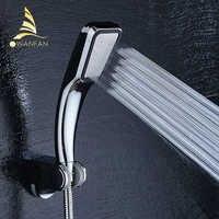 30% economia de água 300% pressão impulso chuveiro cabeça 300 buracos qualidade abs chrome mão hold chuveiro do banheiro 9265