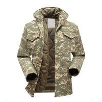 M65 military tactical jacket for men army fan windbreaker jacket plus size with inner military fans winter jacket men clothing
