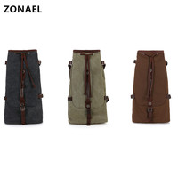 ZONAEL 21 23 24 26 Inch General Ukulele Carry Bag Double Strap Hand Folk Canvas Cotton