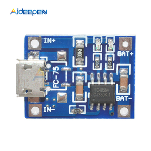 Image 2 - 10 個 TP4056 マイクロ USB 18650 リチウム電池の充電ボードプレート充電器モジュール + 保護デュアル機能 5V 1A