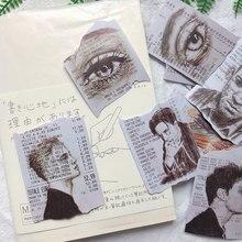 Креативные наклейки для квитанций по магазинам, наклейки для журналов, планировщиков, скрапбукинг, винтажные декоративные наклейки, поделки своими руками, фотоальбомы