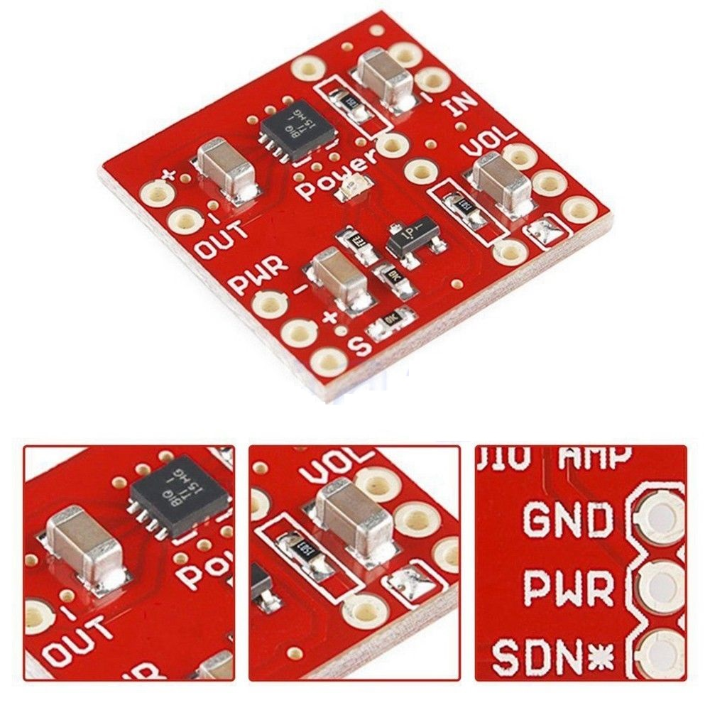Hot Sale Tpa2005d1 250khz Mono Audio Amp Breakout Class D Category Amplifiers Analog Ics Products Tags Amplifier