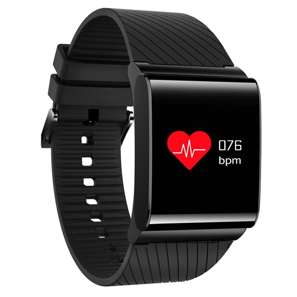 Браслет довольно прохладно Цвет OLED Экран смарт-браслет IP67 Водонепроницаемый Приборы для измерения артериального давления кислорода серде...