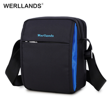 WERLLANDS Men's Messenger Bags Small Male Bag Cross Body For Men Shoulder Work Bags For Men Crossbody bao bao Denim Shoulder Bag