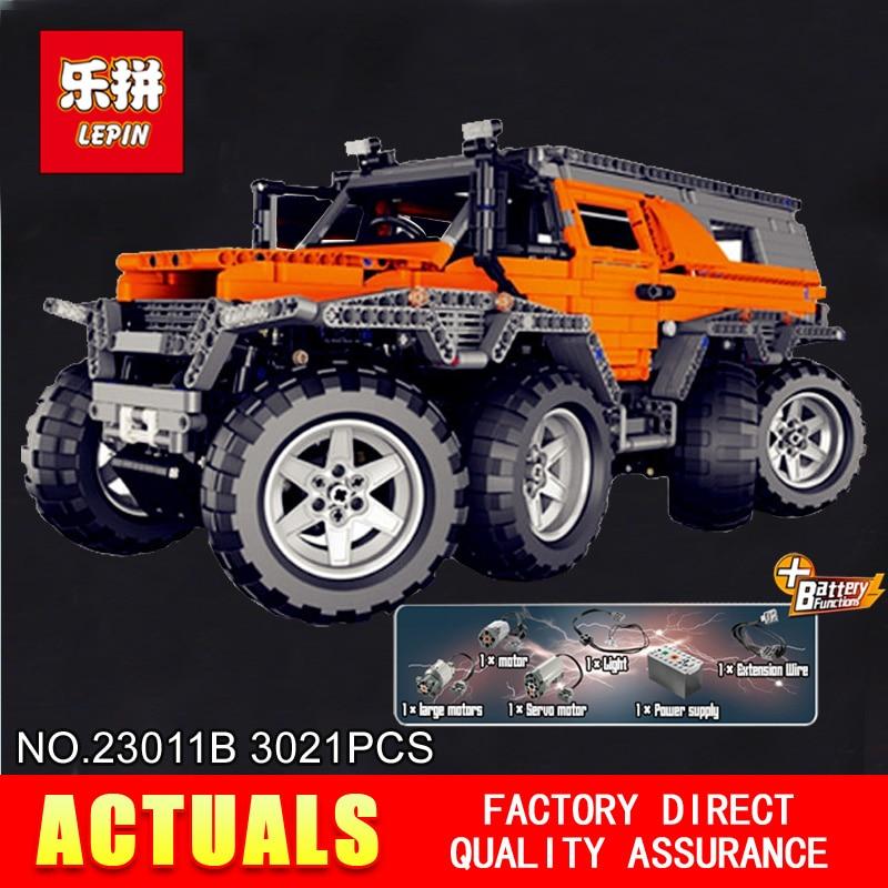 Nuevo LEPIN 23011B 3021 piezas Technic Series vehículo todoterreno Model Building Kits Block ladrillos educativos Compatible juguetes regalo 5360