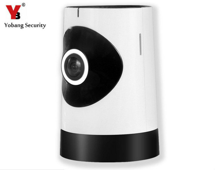 YobangSecurity 185 Degree WiFi Wireless IP Camera Mini Baby Pet Monitor Home Security Camera Surveillance Webcam For IOS Android yobangsecurity 960p wifi wireless security camera for baby elder pet nanny monitor with night vision