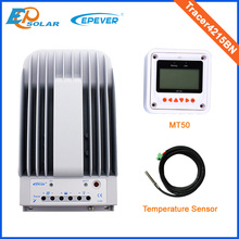 12 volt 40A 40amp solar controller EPEVER Tracer4215BN+temperature sensor 12v 24v auto type with MT50 remote meter