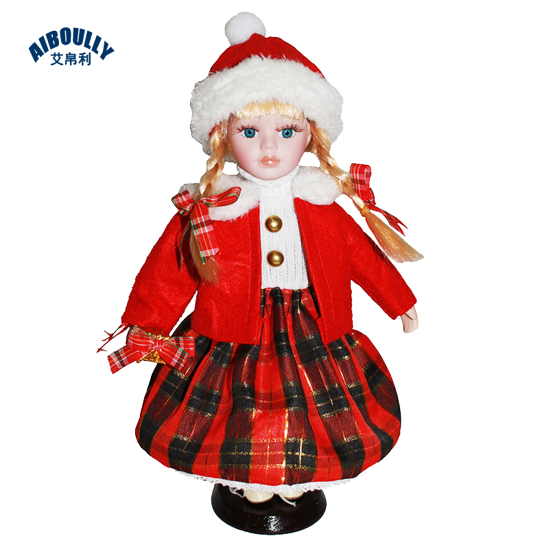 30 cm Fashion Doll Gifts Lifelike Fantasy Style Ceramics Dolls Dress For Girl Friend Birthday Collection Porcelain Toys