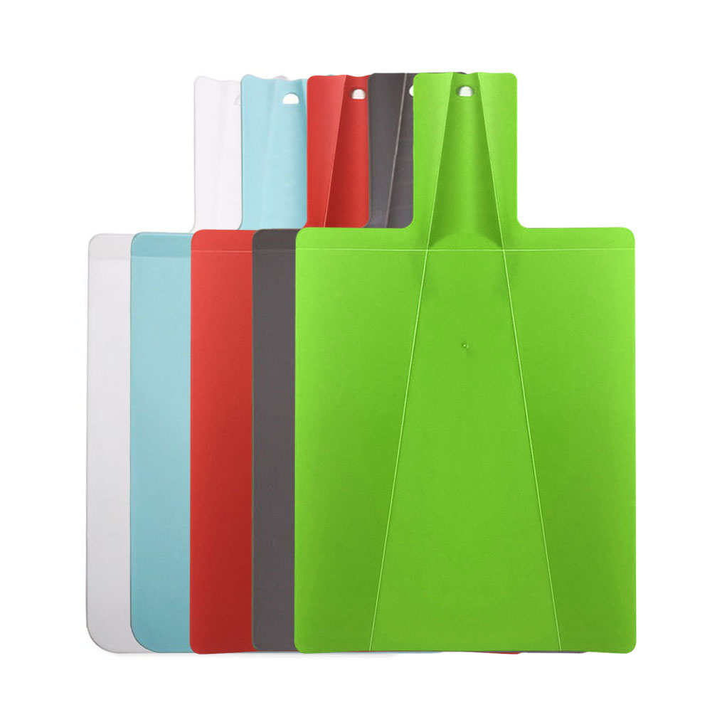 1Pc Foldable Chopping Blocks Food Grade Plastic Vegetable Meat Cutting Board Multi-function Kitchen Accessories 38.2*21.5 cm 1