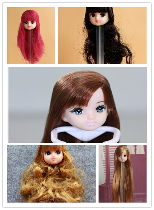 New  Doll Head For Licca Doll Head Doll Accessories