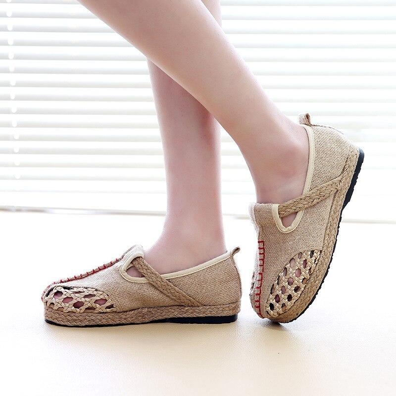 4171 P Folk Stil Sommer College Wind Weibliche Einzelne Schuhe Großhandel