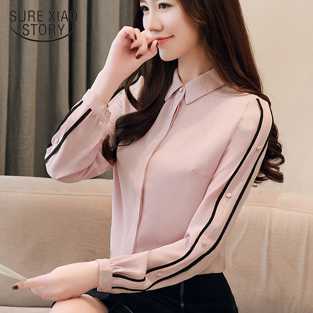 Hot Price 33806 Autumn Shirts Women 2020 Chiffon Blouse Long Sleeves Korean Style Work Wear Long Sleeve Slim Fit Women Top Pink Blusas 1354 45 Cicig Co The proliferation of this mistaken belief has caused find a good training program. cicig
