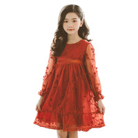 Family Look Baby Girls Dress 2019 Spring Mother & Daughter Clothing Korean Style Family Dress Mommy and Me Dresses QZ088