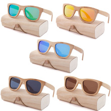 Oeientree Factory outlet Wood Sunglasses Polarized Wooden Glasses UV400 Bamboo Sunglasses Brand Wooden SunGlasses With Wood Case