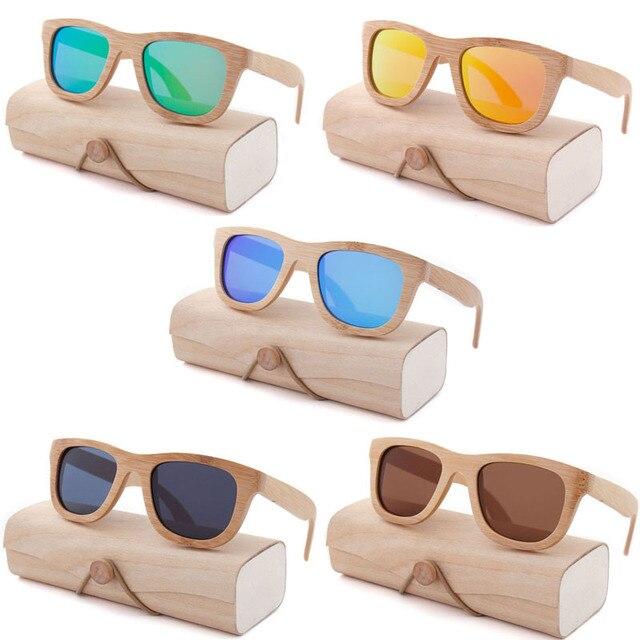 Oeientree חנות מפעל עץ משקפי שמש מקוטב עץ משקפיים UV400 במבוק משקפי שמש מותג עץ משקפי שמש עם מקרה עץ