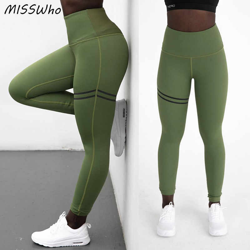 1d36fb978d ... Yoga Pants Leggins Sport Women Fitness Stretch Elastic Trousers Running  Tights Sportswear Push Up Slimming Gym