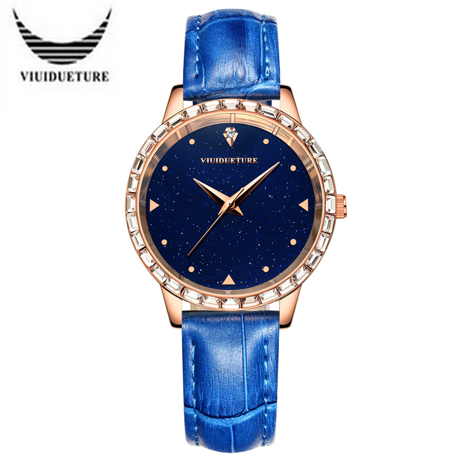 2016 Fashion leisure classic Famous brand watches Womens Leather Strap Watch Lady Quartz Clock Waterproof Wristwatches femenino