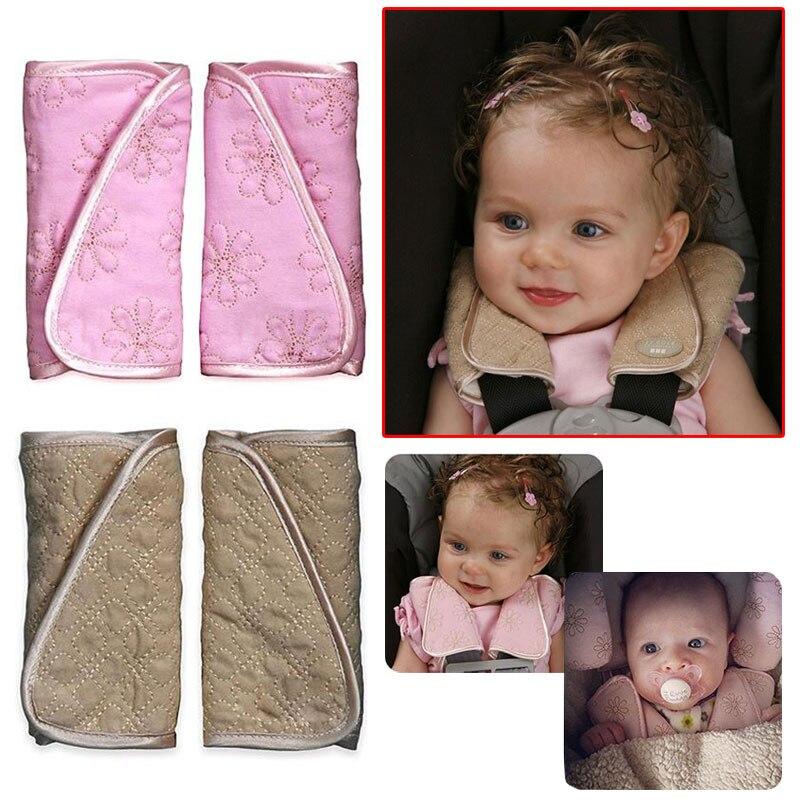 2 шт Детские ремни безопасности детское автомобильное сиденье ремень плечевой протектор крышка