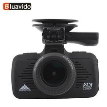 Bluavido 2K Dash camera Ambarella A7 Full HD 1296P auto Video Recorder GPS tracker Night Vision LDWS Car DVR Overspeed Reminding