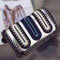 Sacos de mulheres Mensageiro Sacos De Ombro De Couro Cadeia 2016 Bolsas De Luxo Mulheres Sacos de Designer de Marca Famosa de Alta Qualidade Bolsos A0285