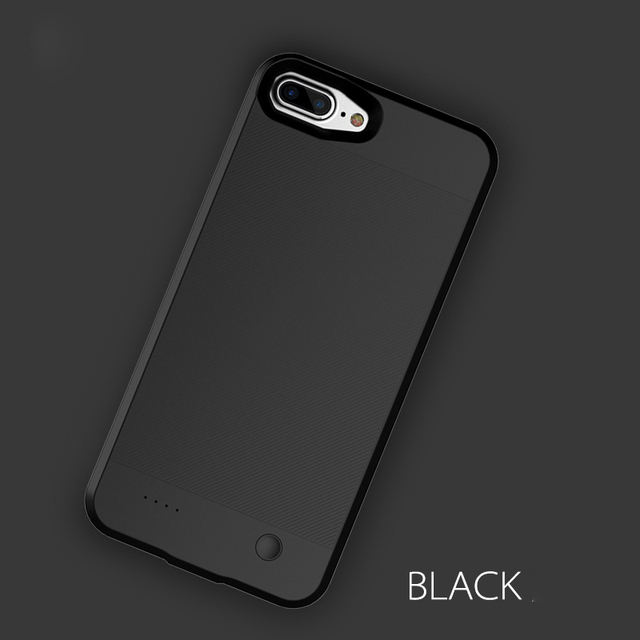 low priced 93f01 c6aaf US $15.69 25% OFF External Backup Battery Charger Case For iPhone 8 7 6 6s  Plus Ultra Thin Slim Powerbank Charging Case Cover for iPhone 6 6s 7 8-in  ...