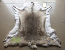 cl139 specialty pure natural reindeer skin rug home decor leather carpet bedroom wholesale gift carpet in living room area rugs