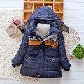 Детская одежда, детская мальчик зима Внешней торговли катание на лыжах с капюшоном хлопка пальто, Европа теплый Хлопок-мягкие одежды jacke пальто
