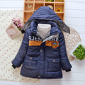 children clothes,baby boy winter Foreign trade skiing hooded cotton coat,Europe warm Cotton-padded clothes jacke coat