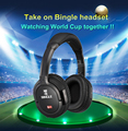 Original Bingle B-950-W Dual 2.4G Wireless Wired HiFi Sound Multi Function Computer PC Phone Headset ps4 Headphones Earphones