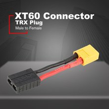 3cm Male XT60 Connector to Female TRX FOR Traxxas Plug Adapter Cable for RC Battery Converter Remote Control Toys Accessories t plug male to tamiya female electric battery adapter cable