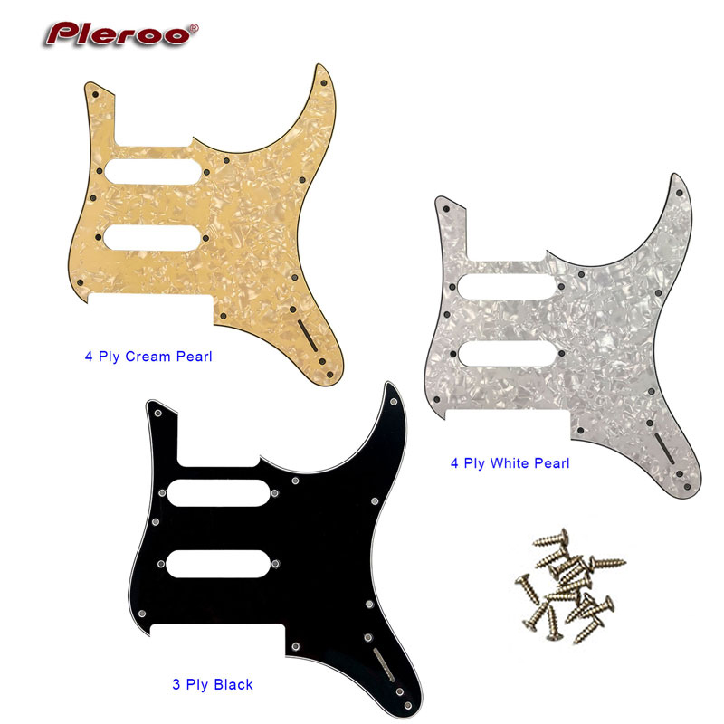 pleroo custom guitar parts for mij japan yamaha pacifica 112v electric guitar pickguard scratch. Black Bedroom Furniture Sets. Home Design Ideas