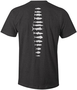 Saltwater Spine Fishinger T-Shirt Fashion Men Top Tee Print Men T Shirt Summer 100% Cotton Brand New T-Shirts Top Tee