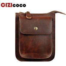 PU Leather Men Bag Leather Chest Belt Waist Bag Men Shoulder Crossbody Bag Money Belt Bag Phone Wallet Pouch 001f men s pu leather inclined crossbody bag