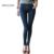Mulheres De Cintura Alta Jeans Casual Denim Jeans Skinny Calças Lápis do sexo casual apertado magro calças jeans feminina primavera verão