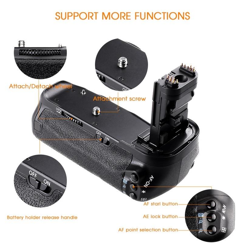 Canon 60D 60Da DSLR Kamera Dəyişdirmə BG-E9 üçün LP-E6 - Kamera və foto - Fotoqrafiya 4