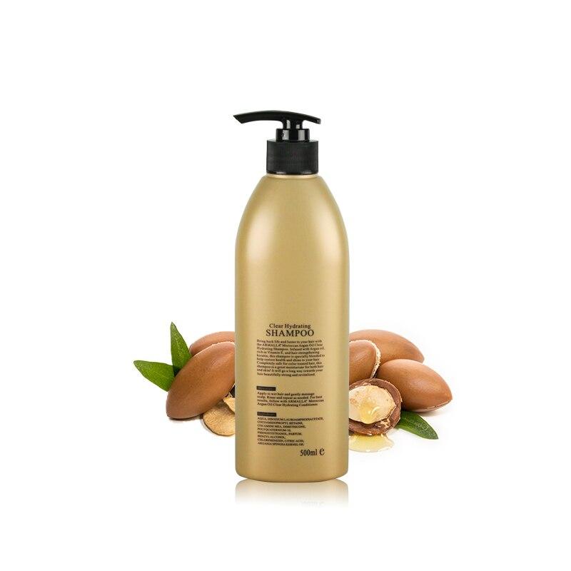 Купить с кэшбэком Superior Grade Hot Sale Armalla 500ml Moroccan Clear Hydrating Dry Shampoo hair care Moisturizing Shining Free shipping