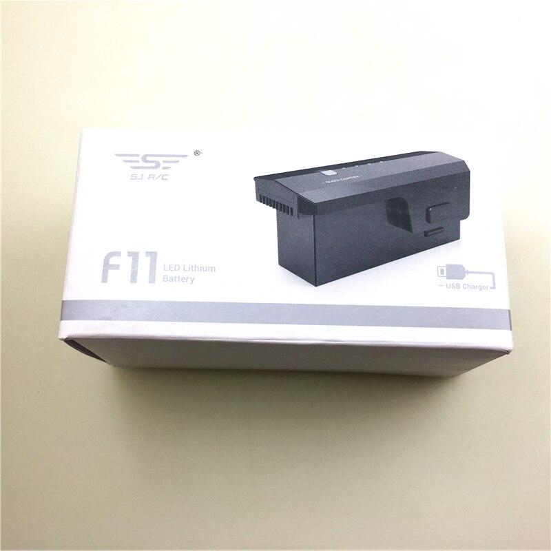 (En Stock) batería original 2500 V Lipo de mAh para SJR/C SJRC F11 Drone RC Quadcopter piezas de repuesto accesorios SJRC F11 batería