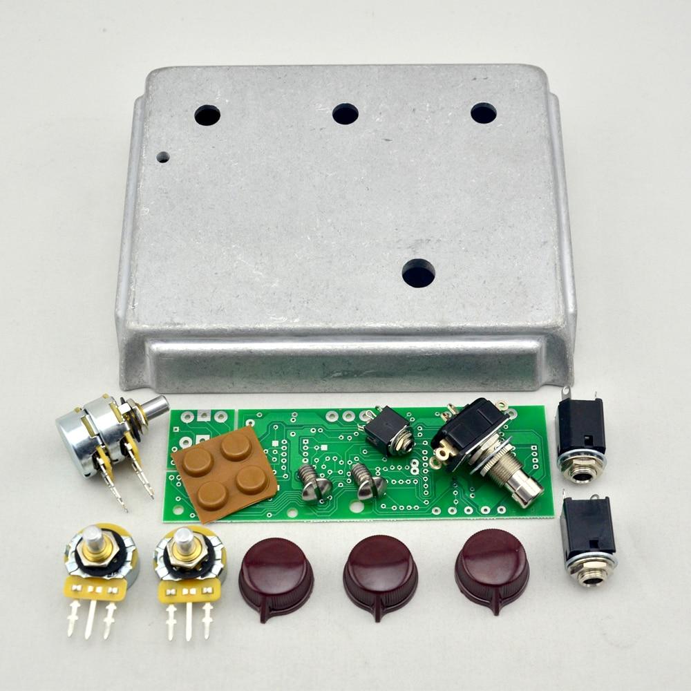 Klon Centaure Professional Overdrive Diecast Aluminum Enclosure Box And PCB And More kit все цены