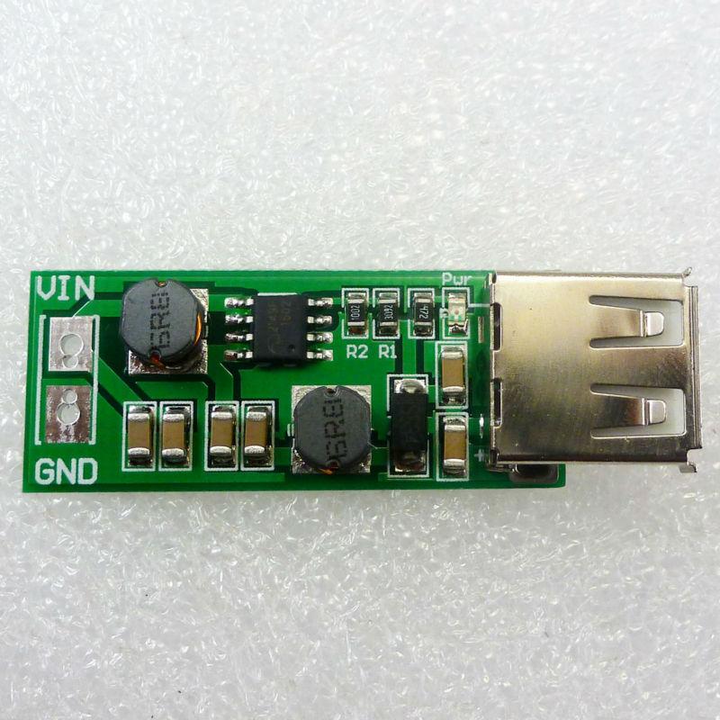 USB DC5V Output auto boost buck step up step down converter 1-6V to 5V Power