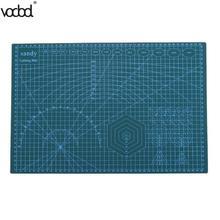 A3 ПВХ коврик для резки Pad Лоскутная Двусторонняя самовосстановления ткани кожи Бумага Craft Нескользящие DIY вырезать доска инструменты
