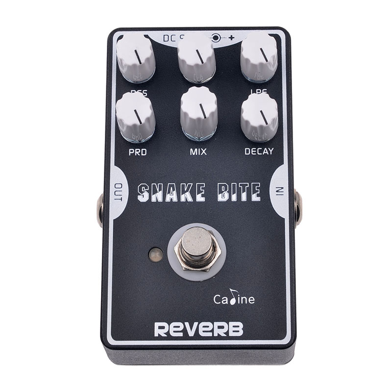 Caline CP-26 Reverb Guitar Effect Pedal Reverb Guitar Stompbox Akcesoria gitarowe z True Bypass Pedal Effect Guitar Parts