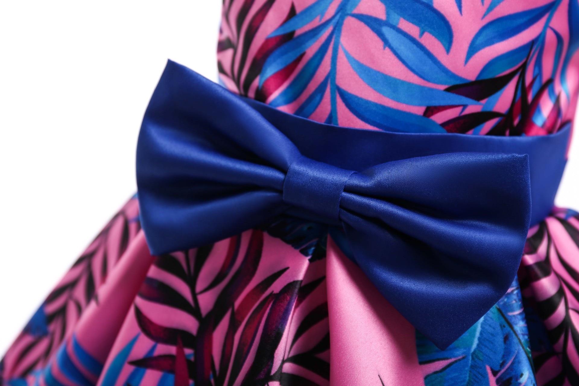 HIBYHOBY 2018 New Girl Formalne Wesele Sukienki Dzieci Princess - Ubrania dziecięce - Zdjęcie 5