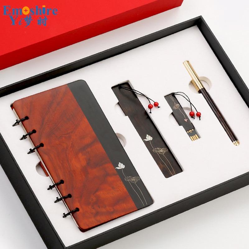 Gros stylo à bille en bois créatif publicité cadeau stylo à bille LOGO personnalisé stylo à bille pour écrire signet cahier P711