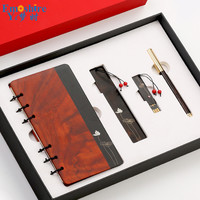 Wholesale Wood Ballpoint Pen Creative Advertising Gift Ball Pen Custom LOGO Ballpoint Pen for Writing Bookmark Notebook P711