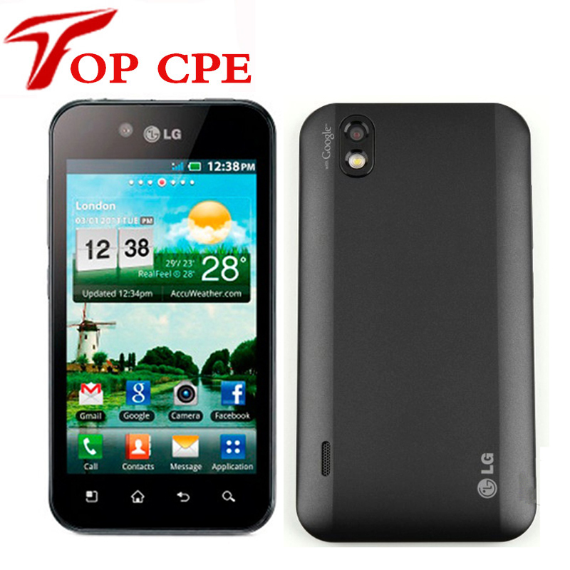 Original LG Optimus Black P970 Cell phone wifi bluetooth GPS gsm 3G Android Smart mobile phone