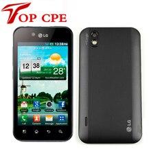Оригинальный lg optimus black p970 сотовый телефон wifi bluetooth gps gsm 3 г android смарт мобильный телефон восстановленное