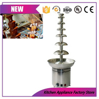 110V/220V 7 layer Christmas Wedding Event Party Supply large chocolate waterfall fountain machine for sale in divisoria