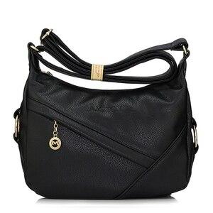 Image 5 - High Quality Retro Vintage Womens Genuine Leather Handbag,Women Leather Handbags ,Women Messenger Shoulder Bags Bolsas Feminina